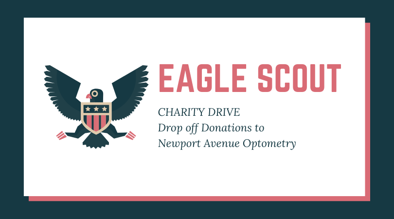 Newport Avenue Optometry Accepting Charity Donations for Eagle Scouts